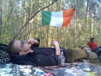 Курим и пьем виски