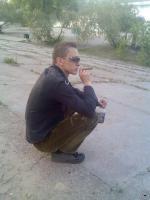 Закат у Днепра