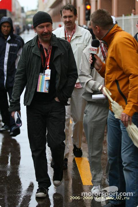 The Edge на ГП Монако (25 мая 2008 года)