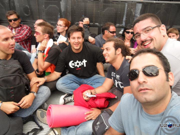 1 ряд, с нами Bono UA