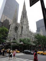 Собор святого Патрика в NY (с высоты птичьего похода)