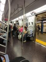 Подземка в NY.