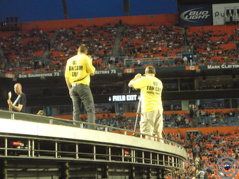 U2 Fan Cam
