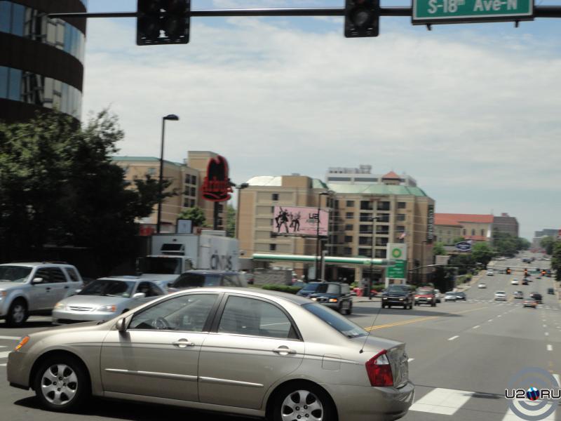 Нэшвилл - единственная реклама U2