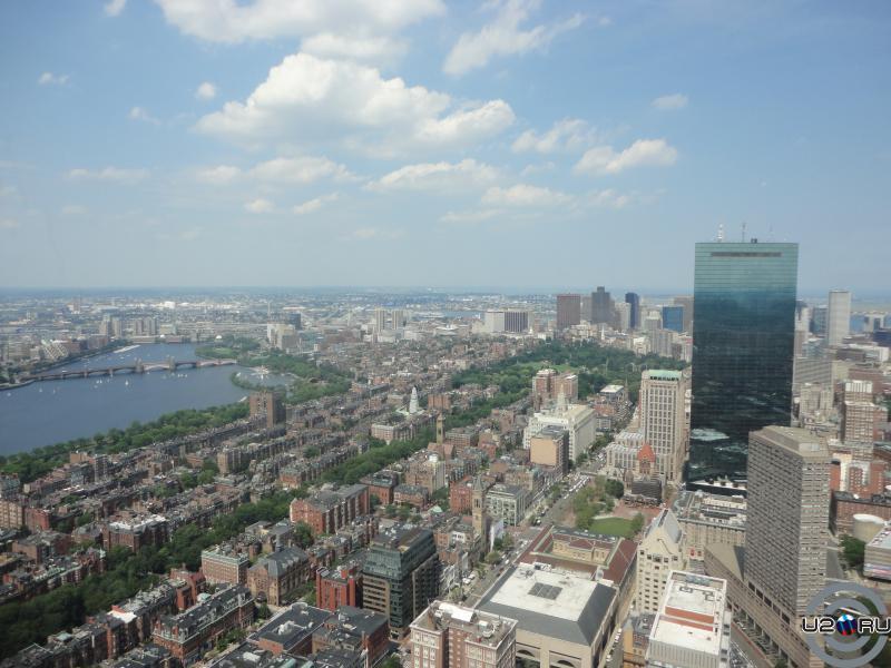 Бостон с высоты птичьего того самого