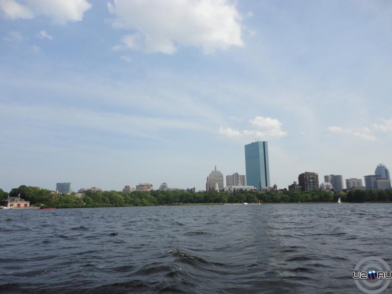 в заплыве. Бостон