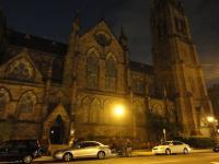 Church of the covenant в ночи