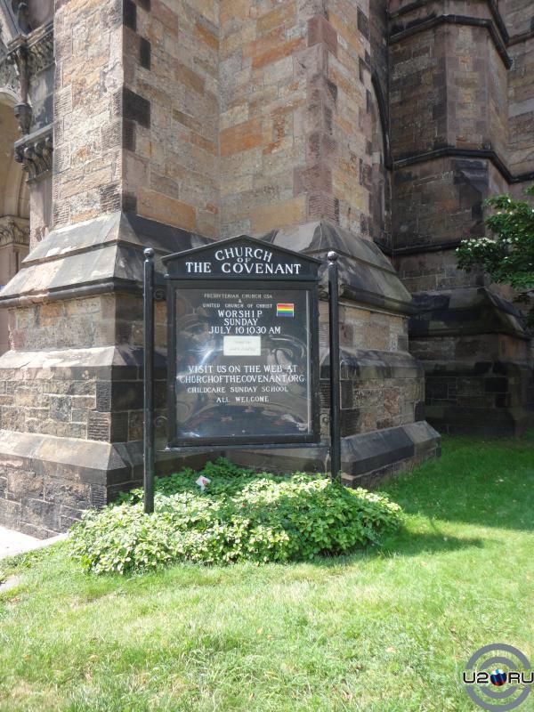 """Church of the covenant. Бостоню Место съемок """"Святых из Бундока"""""""