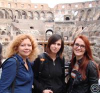 прогулки по Колизею