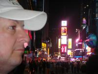 Kapibara на Таймс Сквер