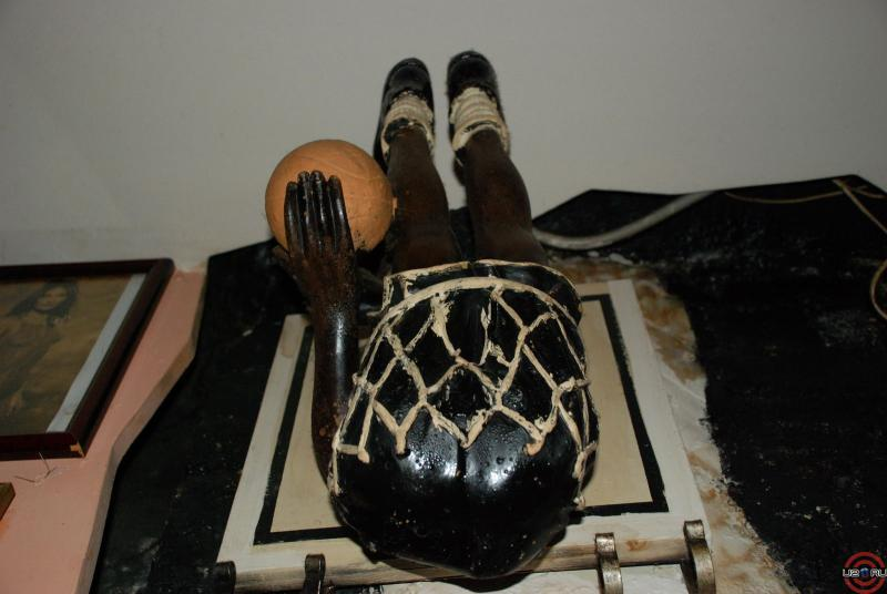 Застрявший баскетболист