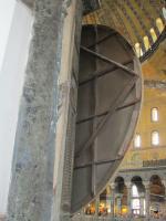 Вид внутрь с балкона 2го этажа храма св.Софии