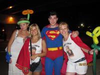 Метро не работало и мы поймали Супермена!
