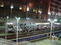 Вход в метро после концерта.