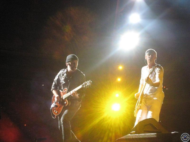 The Edge and Adam labaying)))