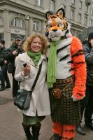 Наташа с ирландской тигрой