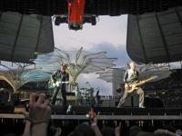 вот с такой позиции семеро наших U2 и смотрели