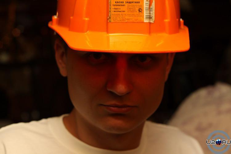 Каска защитная (оранжевая) класс B