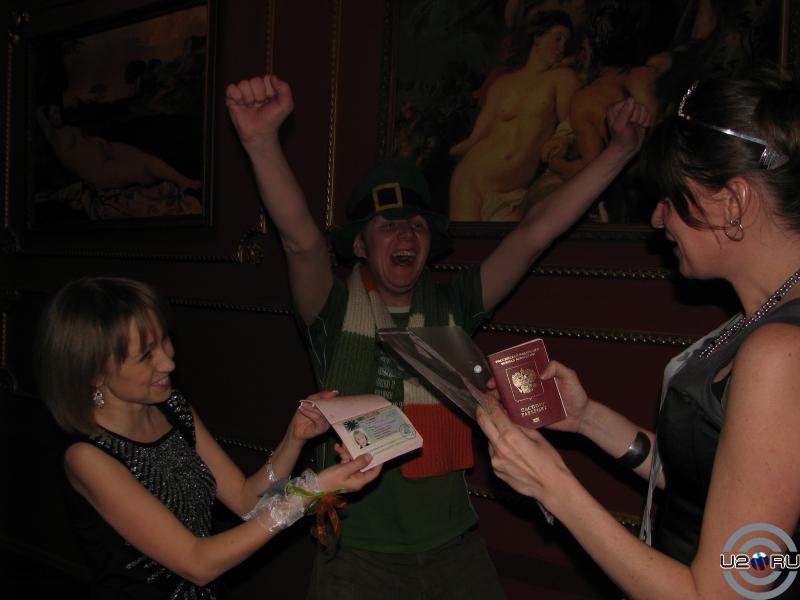 Счастливый обладатель Ирландской визы в паспорте