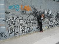 Стена около студии U2