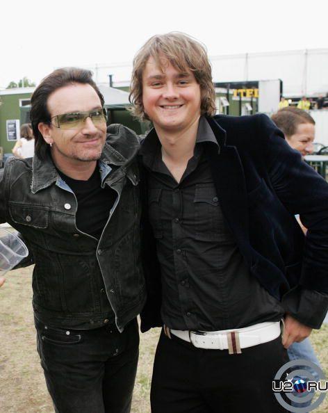 Bono & Tom Chaplin