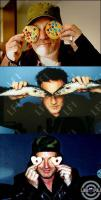 Bono's eyes