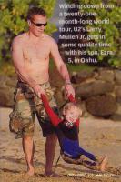 Larry with his son, Ezra (5)