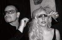 Боно и Lady GaGa